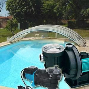 pompe piscine s'arrete et repart